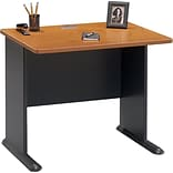 Cubix Series Nat. Cherry/Grey 36 Desk