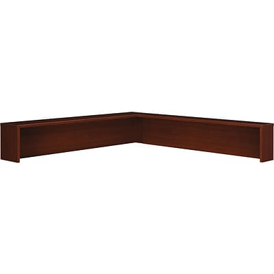 Bush Business Westfield Reception L-Shelf, Cherry Mahogany