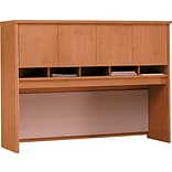 Bush® Corsa Warm Oak Finish Hutch