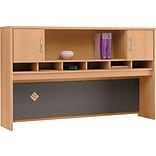Bush® Corsa Light Oak 72 2-Door Hutch