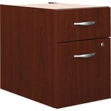 Bush® Corsa Mahogany 2-Drawer Pedestal