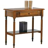 OSP Knob Hill 30 Foyer Table, Antique Cherry