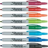 Sharpie® Retractable 8-Color Pack Fine-Point Markers