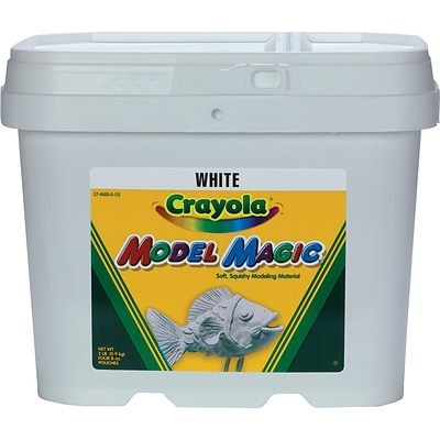 Binney & Smith Crayola® Model Magic Value Pack; White, 8 oz. Packages, 12/Ct