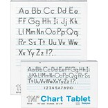 Pacon® Ruled Chart Tablets, 1-1/2 Ruling, 16H x 24W
