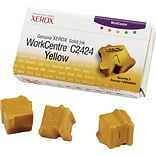 Xerox WorkCentre C2424 Yellow Solid Ink (108R00662); 3/Pack