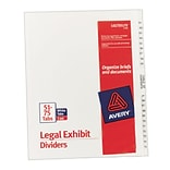 Avery® #51-75 Legal Index Exhibit Dividers