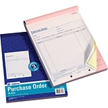 Carbonless 3-Part Prch Order Books