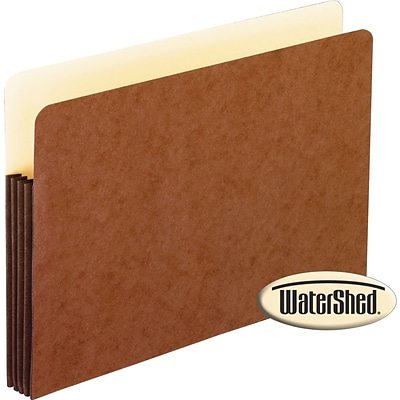 Esselte® Pendaflex® Watershed Expanding File Pockets, Legal, 3-1/2 Expansion