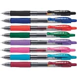 Pilot G2 Premium Retractable Gel-Ink Rolling Ball Pens, Fine Point (0.7mm), Assorted, 8/Pk (31128)
