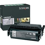 Lexmark 1382929 Black Return Program Toner Cartridge for Label Applications; High Yield