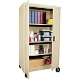 Sandusky 66x36x24 Mobile Cabinet Putty