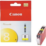 Canon CLI-8Y Yellow Ink Cartridge, Standard (0623B002)
