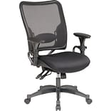 SPACE & reg, Air Grid Professional Ergonomic Chair with Black Mesh Seat