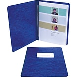 ACCO® Pressboard Report Covers, Side Binding for Letter, 3 Capacity, Dark Blue