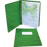 ACCO® Pressboard Report Covers, Side Binding for Letter, 3 Capacity, Dark Green\