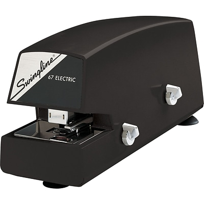 Swingline® Commercial Automatic Electric Stapler, 20 Sheets, Black, 90 Day Warranty