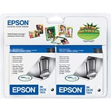 EPSON® T060120 Black Inkjet Cartridges Multi-pack (2 cart per pack)