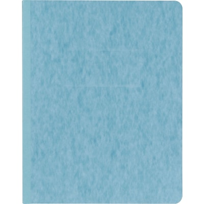 Oxford® PressGuard® Report Cover with Fastener, 8-1/2x11, Light Blue