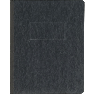 Oxford® PressGuard® Report Cover with Fastener, 8 1/2 x 11, Black