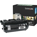 Lexmark T640/644 Black Toner Cartridge (64015HA); High Yield Return Program