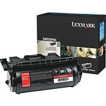 Lexmark T640/644 Black Toner Cartridge (64035HA); High Yield