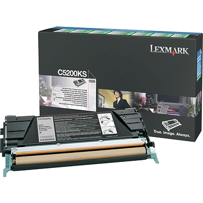 Lexmark Black Toner Cartridge (C5200KS), Return Program