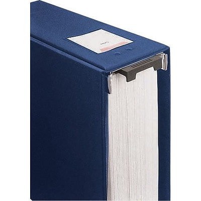 Wilson Jones® Large Capacity Hanging Vinyl Binder, 3/870 Sheet Capacity, Blue