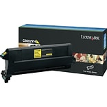 Lexmark C9202YH Yellow Toner Cartridge