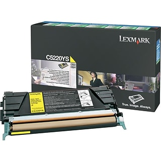 Lexmark Yellow Toner Cartridge (C5220YS); Return Program