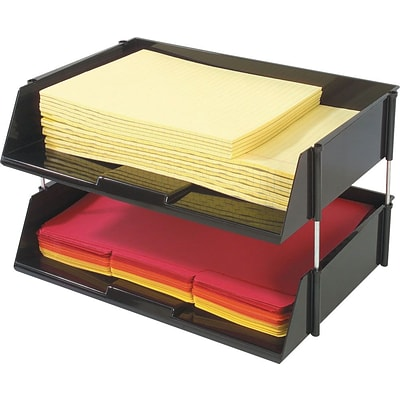 Deflect-O® Industrial Tray™ Side-Loading Letter Tray
