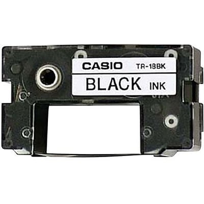 Casio® Ribbons for CW75 & CWK85 Disc Title Printers, 3-Pack, Black
