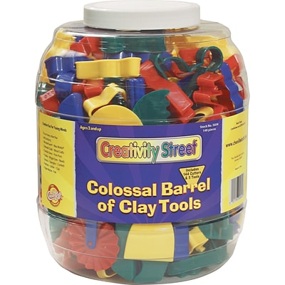 Chenille Kraft® Modeling Tools, Colossal Barrel of Clay Tools