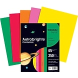 Astrobrights 65lb. Assorted Card Stock