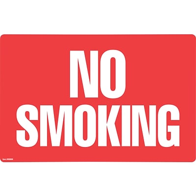 Cosco® No Smoking/No Fumar 8 x 12
