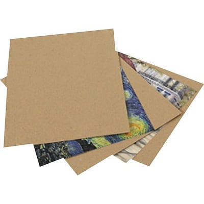 Chipboard Pads, 8 1/2 x 11, 960/Case