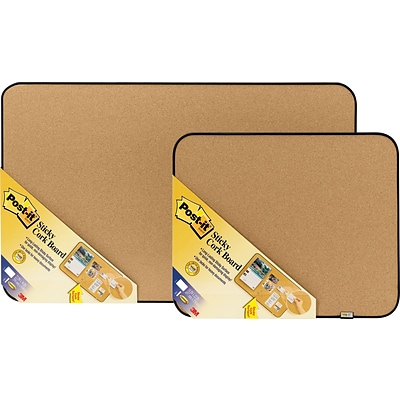 Post-it® Sticky Cork Boards, 18x22