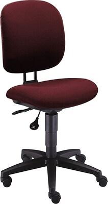 "Hon(r) Comfortask Task/computer Chair, Fabric, Burgundy, Seat: 20""w X 17""d, Back: 16 1/4""w X 17 3/4"" 20 1/4""h"