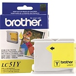 Brother Ink Cartridge; Yellow (LC-51Y)