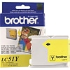 Brother LC51Y Yellow Standard Yield Ink Cartridge