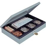 MMF Industries® Steel-Constructed Cash Boxes, Security Lock