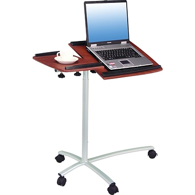Techni Mobili Laptop Cart, Mahogany