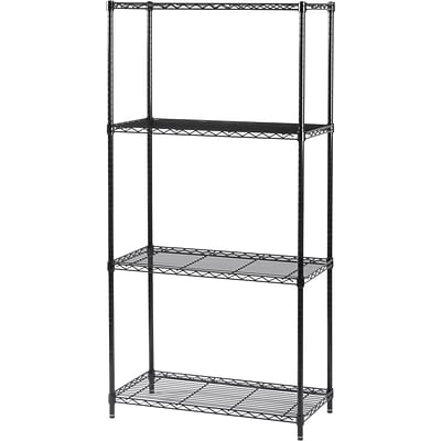 Safco® Commercial Wire Shelving Kit, 36W