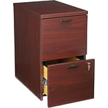 HON® 10500 Series Office Collection in Mahogany, 2-Drawer Mobile Pedestal File