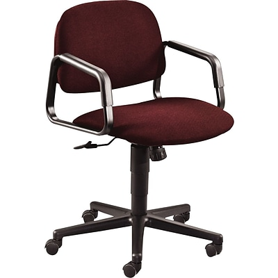 HON® 4000 Series Solutions® Seating Manager Chairs, Mid Back Swivel/Tilt, Burgundy