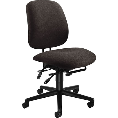 HON® 7700 Series Task Chairs, High Performance, Black