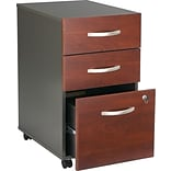 Bush® Corsa Dark Cherry 3-Drawer File