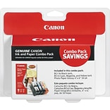 Canon® BCI3E/BCI6 Photo Pack, Multi-pack (4 cart per pack)