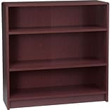 Radius-Edge Laminate Bookcases; 36-1/8H