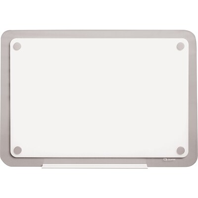 Quartet® iQ™ Total Erase® Whiteboard, Translucent Frame, 35 1/2W x 22 1/2H (TM3623)